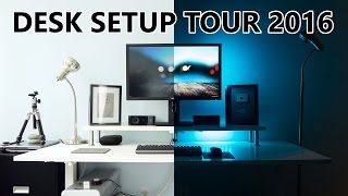 Office Desk Setup Tour 2016