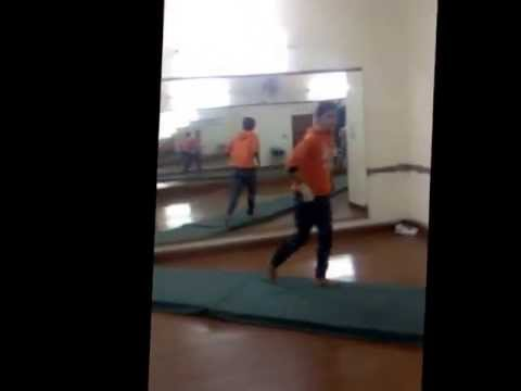 Bboy Abbey Doing Cutsolto...@ Step 9 Five Dance Factory
