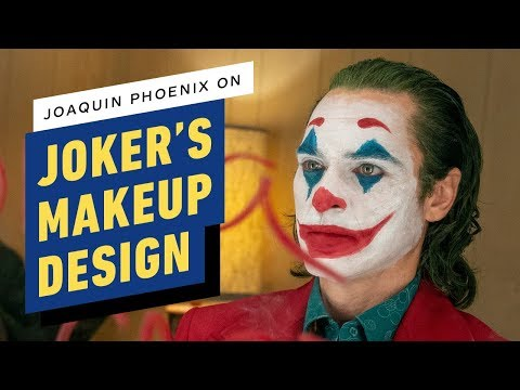 Joker: Joaquin Phoenix on the Clown Prince's Makeup Design thumbnail
