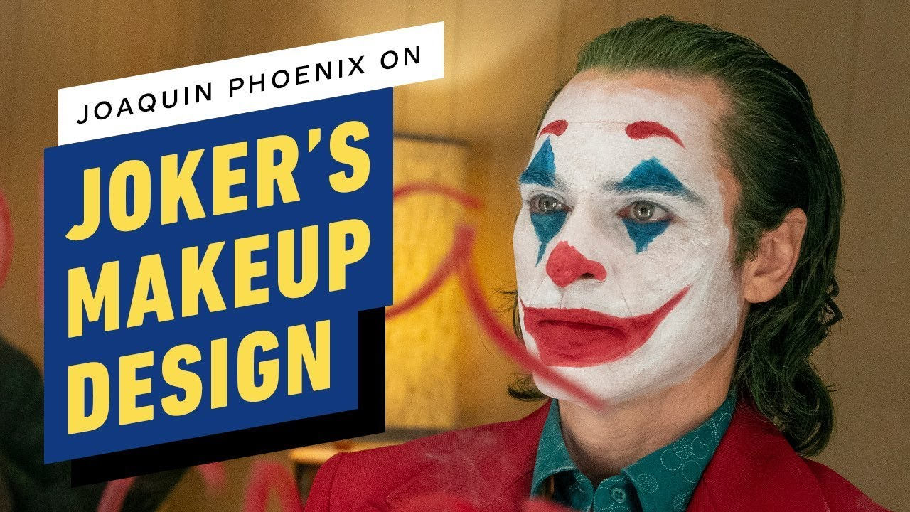 Joker Joaquin Phoenix On The Clown Prince S Makeup Design
