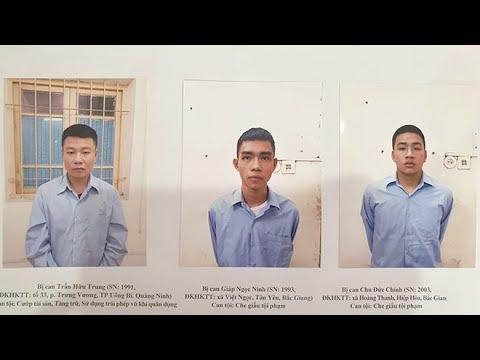 Hành trình truy tìm tên cướp nổ súng cướp ngân hàng Techcombank ở Sóc Sơn Hà Nội