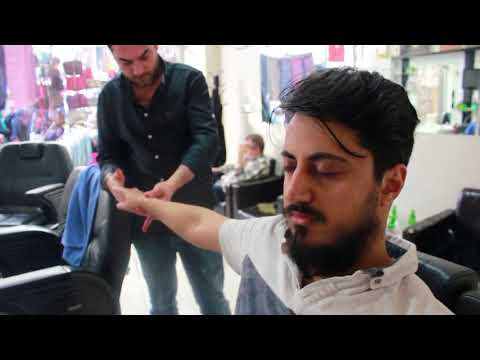 ASMR Turkish Barber Face,Head and Body Massage 105