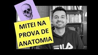 Mitei na prova de ANATOMIA | Histórias da Medicina