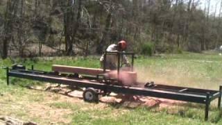 Milling 6x6 Cedar Posts