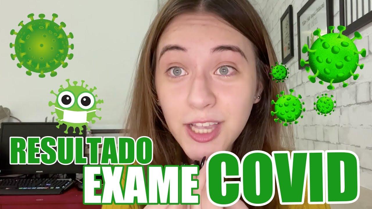 A VERDADE DO RESULTADO DO MEU EXAME DO COVID - CAROL SANTINA