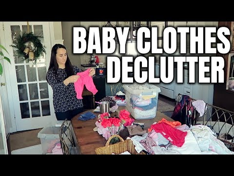 BABY CLOTHES DECLUTTER | Done Having Kids?