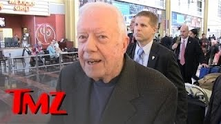 Jimmy Carter Gives Advice to Trump, Then Talks Peanut Butter | TMZ