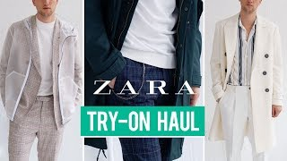 Zara Try-On Haul Fall 2018 | Men's Fashion | Outfit Inspiration
