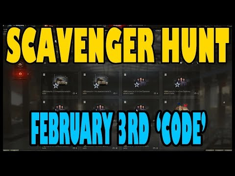 World of Tanks NA Scavenger Hunt | Day 3 | Important Changes!! thumbnail