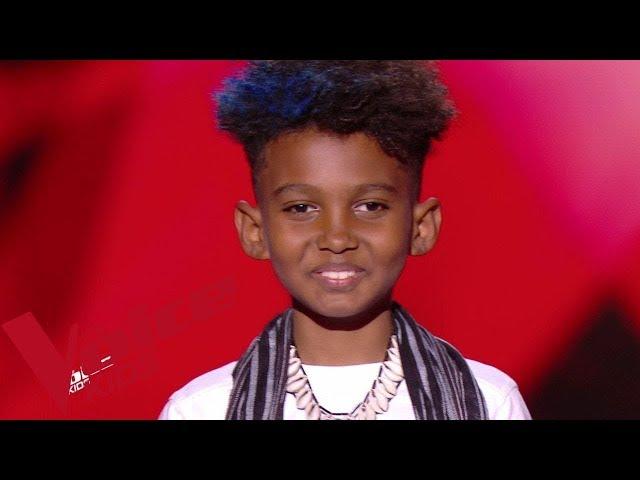 Jean Claude Viadère - La pli y vé tombé   Soan    The Voice Kids France 2019   Blind Audition