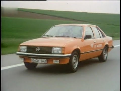 autotest 1978 opel rekord e1 youtube. Black Bedroom Furniture Sets. Home Design Ideas