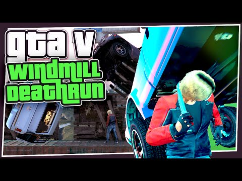GTA 5 Online - Windmill Death Run (GTA Custom Races)