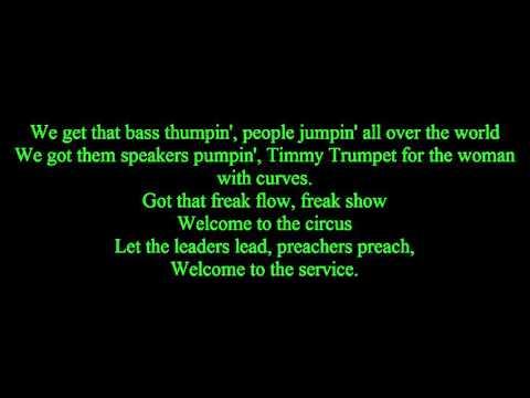 Timmy Trumpet ft- Freaks| lyrics