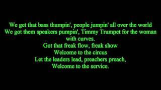 Timmy Trumpet ft.  Savage  - Freaks  | lyrics