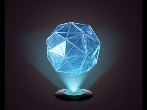 Amazing hologram for smartphone--holograma increíble