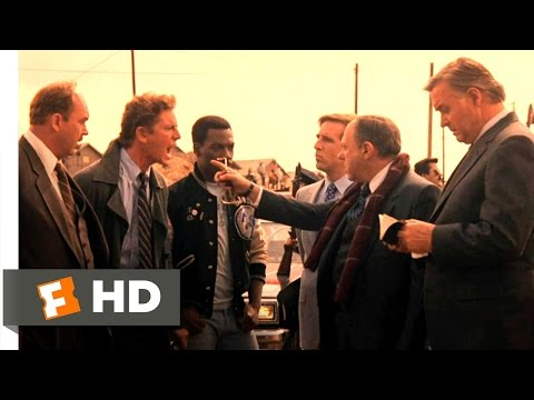 Beverly Hills Cop 2 (10/10) Movie CLIP - Lutz Gets Fired (1987) HD