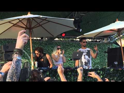 Pleasure State Anabel Englund, Lee Foss, MK  Reverse Skydiving  CRSSD FEST 2015