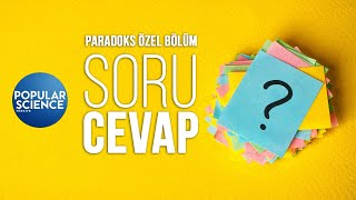 Siz Sordunuz, Biz Cevapladık! - Paradoks Özel Bölüm | Popular Science Türkiye