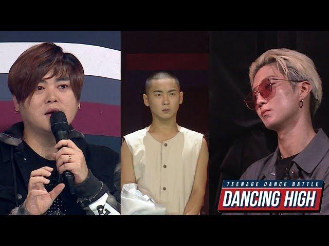 댄싱하이-[무편집/무대 심사평] 이승훈팀 에이스 솔로 무대 심사평 20181015