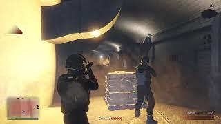 Grand Theft Auto Online Skok na koniec świata- etap 3 . POZIOM-normalny :D