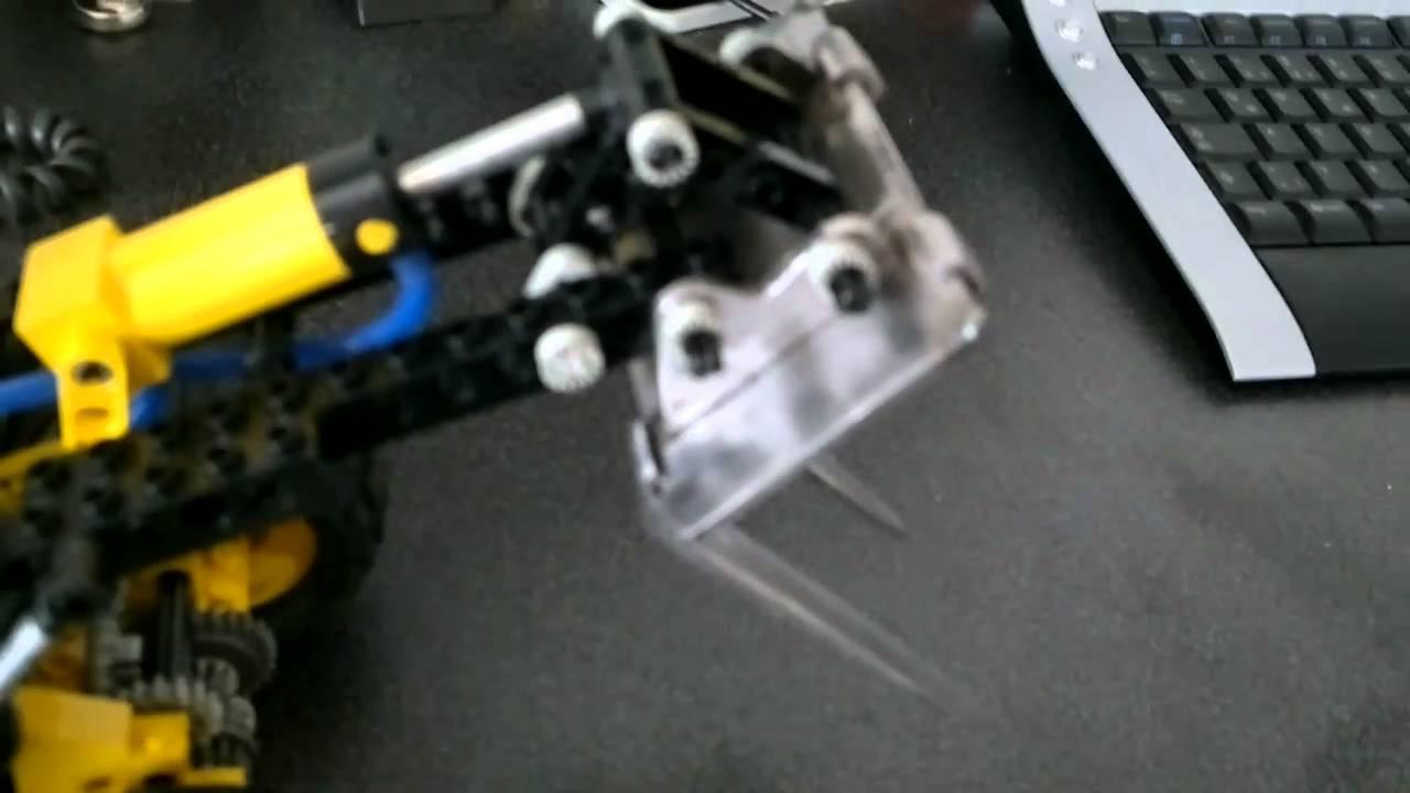 manbbyt lego technic 8459 radlader mit stahl gabeln youtube. Black Bedroom Furniture Sets. Home Design Ideas