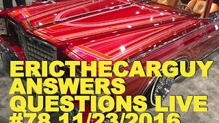 Etcg Answers Questions Live #78 (Ama) 11/23/2016