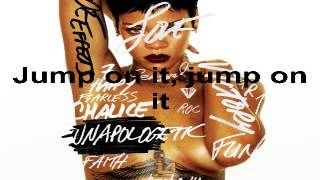 Repeat youtube video Rihanna - Jump (Full Song) (Unapologetic Album 2012) (Lyrics on screen)