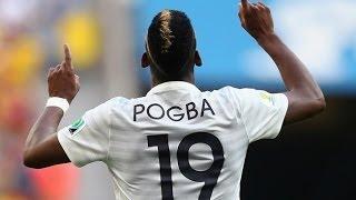 ポグバ フランスvsナイジェリア 決勝点でマン・オブ・ザ・マッチ