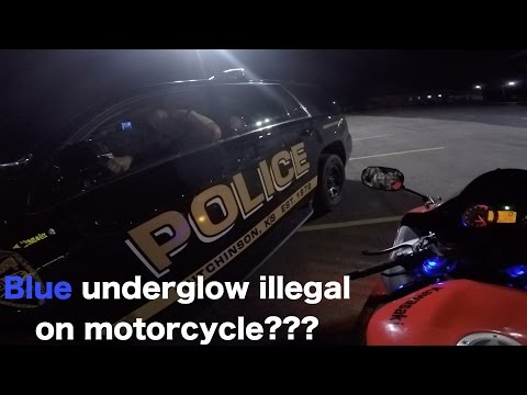 ASKING COP IF BLUE UNDERGLOW IS ILLEGAL ON MOTORCYCLE + NOBODY WANTS TO PLAY