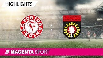 Fortuna Köln - SG Sonnenhof Großaspach   Spieltag 38, 18/19   MAGENTA SPORT