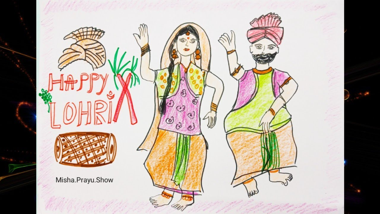 Happy lohri festival 2021