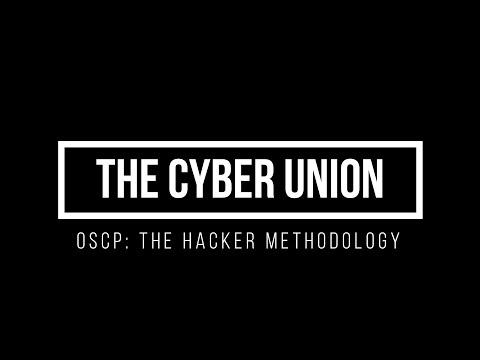 OSCP: Hacker Methodology 101