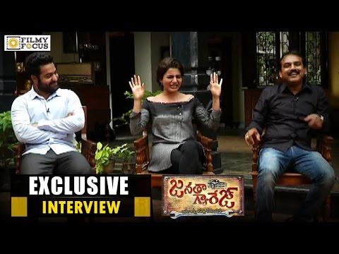 Jr NTR, Samantha & Koratala Siva Exclusive Interview | Janatha Garage Movie - Filmyfocus.com