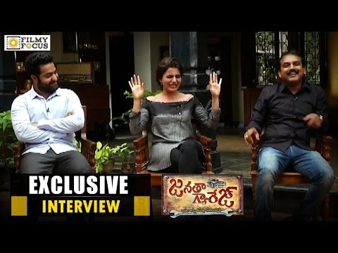 Jr NTR, Samantha & Koratala Siva Exclusive Interview | Janatha Garage Movie - Filmyfocus.com
