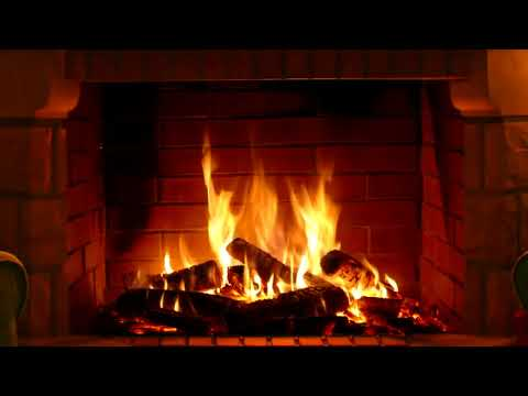 FIREPLACE WITH CHRISTMAS MUSIC