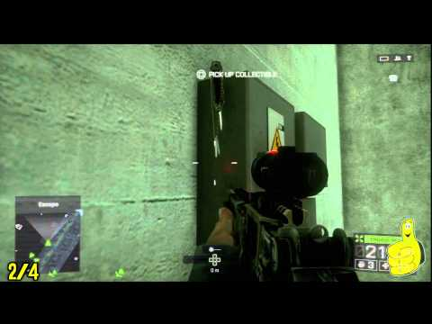 Battlefield 4: Dog Tag / Weapon Locations - Kunlun Mountains Mission - HTG