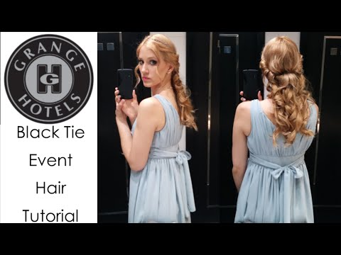 Black Tie Event Hairstyle