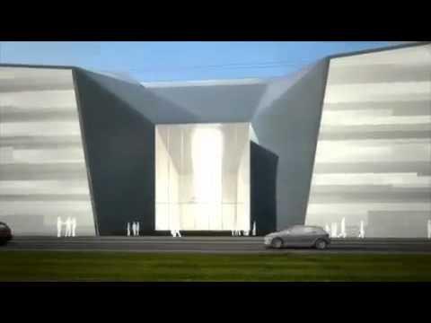 Le futur siège du ministère de la défense à Balard :  visite en 3D