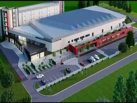 В Краснодаре строится первый на Кубани  тренировочный баскетбольный центр