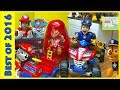 The BIGGEST Paw Patrol Egg Surprise Toys Kinder Eggs Compilation PowerWheels Marshall & Chase