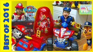 Huge Paw Patrol Surprise Eggs Toys Unboxing Compilation for Kids!