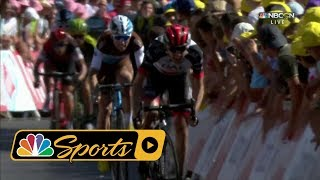 Tour de France 2018: Stage 6 finish ends with small peloton I NBC Sports