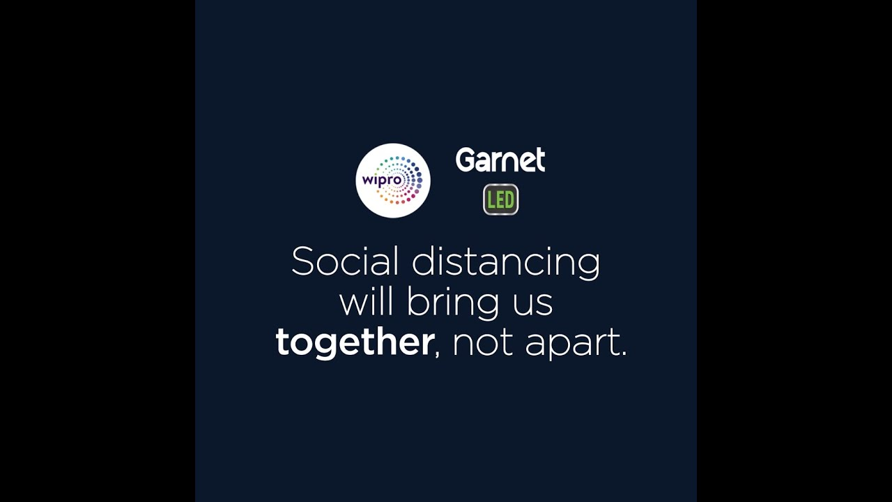 Social Distancing Will Bring Us Together, Not Apart | Wipro LED Lighting