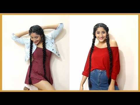 HOW TO MAKE OLD BORING OUTFITS LOOK INTERESTING! CLOTHING HACKS