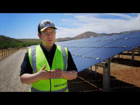 Microgrid Technology Powers Caterpillar's Tucson Proving Ground