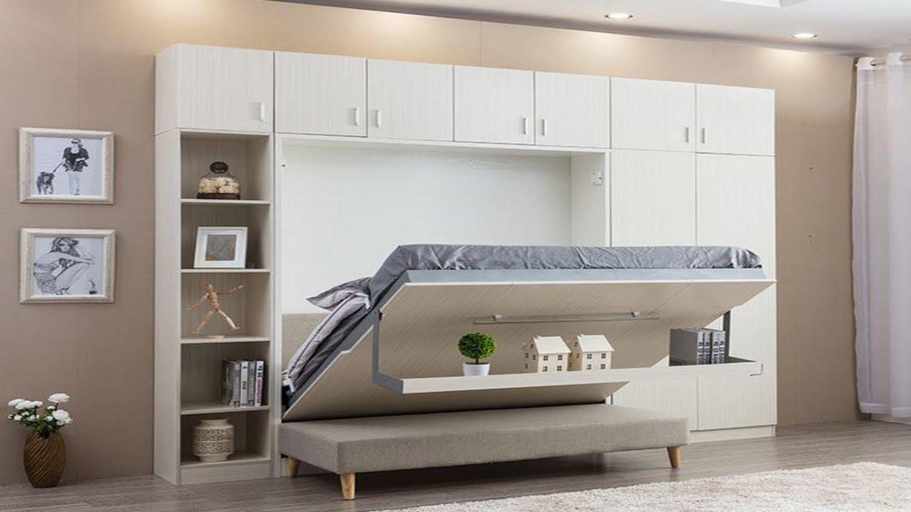 100 Folding bed designs - modern bedroom space saving ...