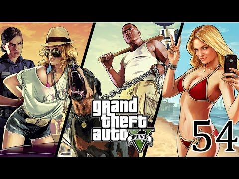 #54 Grand Theft Auto V | An amazing chase