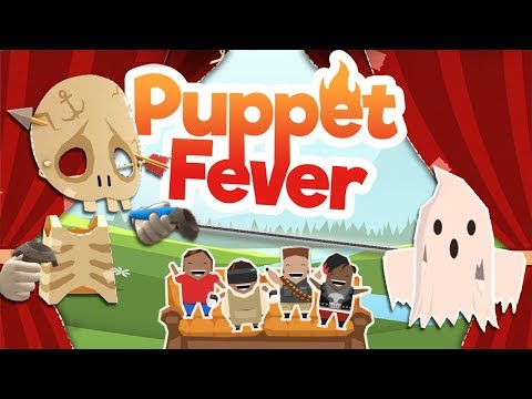 Puppet Fever - #2 - GHOST STORIES! (Multiplayer VR Gameplay)