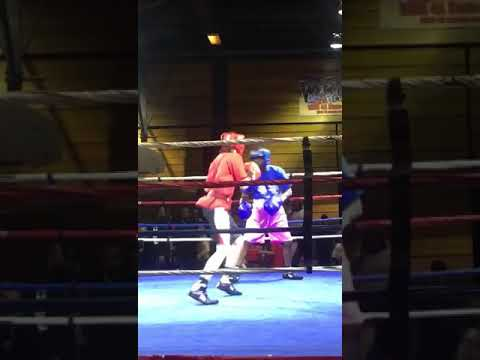 First round TKO (I am in the blue)