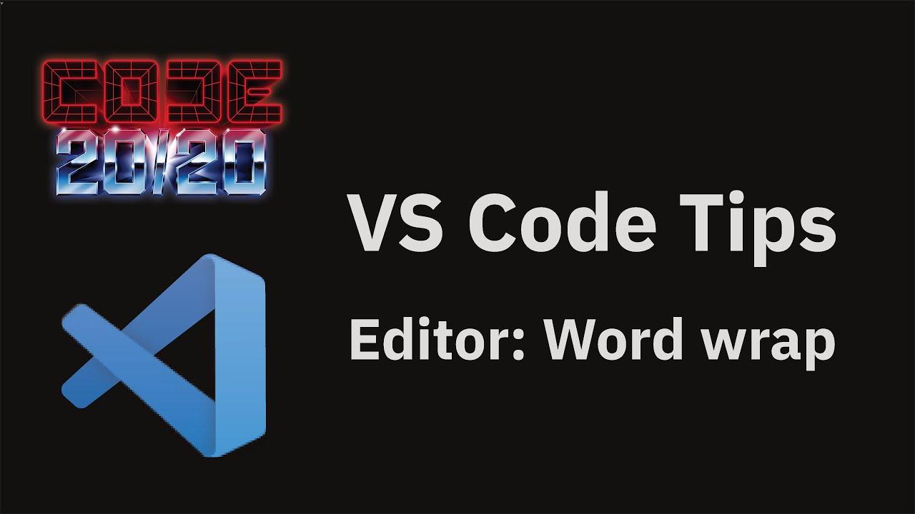 Editor: Word wrap